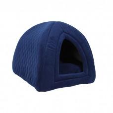 Юрта для животных 40х40х40см Ватсон, цвет синий