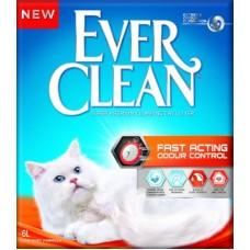 Ever Clean Fast Acting 6кг комкующийся наполнитель быстрого действия для кошек 1/1