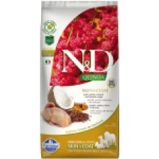 FARMINA N&D Dog Quinoa 800гр Skin&Coat Quail д/взр.собак с перепелкой, уход за кожей и шерстью 5561
