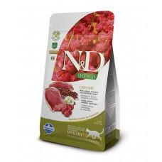 FARMINA N&D Cat Quinoa 1,5кг Urinary Duck для взр.кошек с уткой, мочепол.с-ма 5820