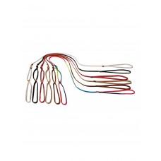 Ринговка шнур нейлоновая коричневая 5мм с вертлюгом, длина 1,4м, фиксатор — прищепка DZ21205,,