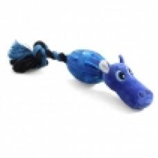 Бегемот в броне игрушка д/собак мягкая 220мм Triol D9043 12141077