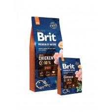 Brit 18кг Premium by Nature Sport  д/взрослых собак с высокими затратами энергии 532216