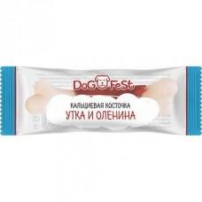 DOG FEST Кальциевая косточка утка и оленина  42132 1/20