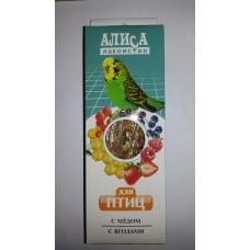 Алиса палочки АССОРТИ д/птиц 2*50гр