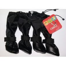 Ботинки д/собак высокие №1 р.1 Osso Fashion черные