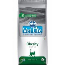 FARMINA Vet Life Cat 2кг Obesity д/кошек при ожирении 5333