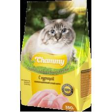 Chammy 350гр сух. д/кошек с курицей