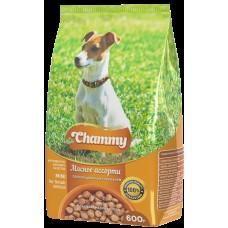 Chammy 600гр сух. д/взрослых собак мелких пород  мясное ассорти