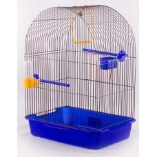 Клетка д/птиц 38,5*27,5*51см ВАКА Фантазия-2 жердочка, поилка 52887