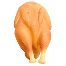 Курица гриль Игрушка YUGI для собак с пищалкой винил 18см /YT3157/