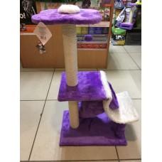 Когтеточка Комплекс YUGI игровой фиолетовый 87,5см /YS82243/