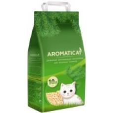 Наполнитель 10л(6кг) Древесный впитывающий наполнитель Aromaticat