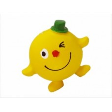 Апельсин 7cv веселый с пищалкой, латекс, Игрушка для собак 1*288 шт №1
