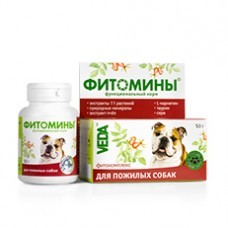 Фитомины д/собак пожилых 50гр.1/30  5961