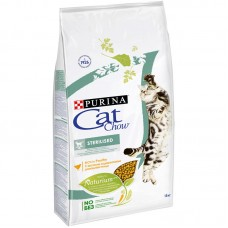 CAT CHOW 400,0 д/к сух стерилизованных 1/8