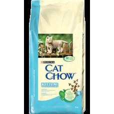 CAT CHOW 400,0 д/котят сух курица 1/8  7869 (00011095   )