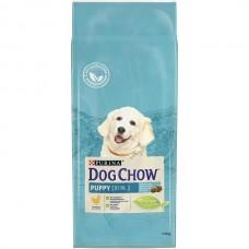 DOG CHOW 14кг д/щенков курица/рис  (00011107   )