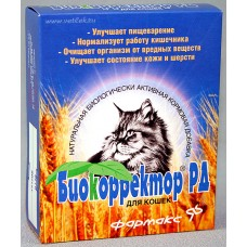 Биокорректор д/кошек 60 табл  1/5 -5918-