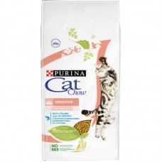 CAT CHOW 1,5 кг. сух чувст.пищев/кожа  5445