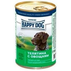 HAPPY DOG 400,0 конс. Телятина с овощами 1441