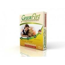 Green Fort биоошейник д/соб от блох крупных пород 80см  1/30 2272-
