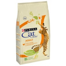 CAT CHOW 1,5 кг д/к взрослых Птица 1/8  3166