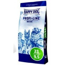HAPPY DOG 20 кг Профи-Лайн Базис на индейка/утка/перепел  23-9,5%  (00249291   )