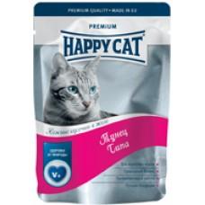 HAPPY CAT 100,0 пауч тунец в желе  1/22