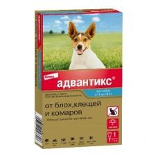 Адвантикс капли д/соб от 4 до 10 кг 1/4пип (штучно)