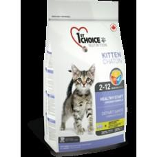 CHOICE д/котят 5,44 кг Kitten (цыпленок) до 01.12.2020,,