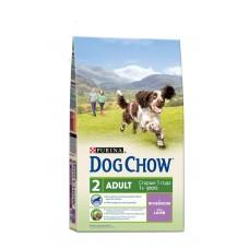 DOG CHOW 14кг д/с ягненок/рис (00254811   )