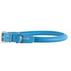 Ошейник КОЛЛАР 35072 дл 45-57см шир 20мм голубой круглый голубой,,