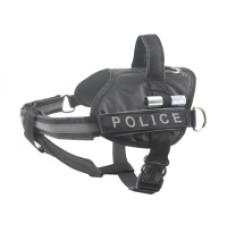 Шлейка КОЛЛАР 07051 Полиция черная №2 40-60см Dog Extrem