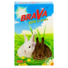 Brava 400,0 д/кроликов 1/14 (00257606   )