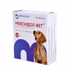 Мексидол-вет №20 табл 125 мг (00259152   )