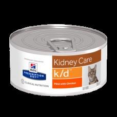 HILLS диета k/d 156,0 д/кош (почки) КУРИЦА 9453 (00361289   )