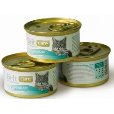 Brit конс 80,0 д/котят цыпленок 100061
