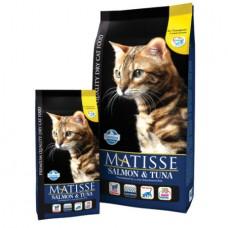 FARMINA Матисс 400 гр сух д/кошек лосось/тунец 6119 1/24 (00363262   )