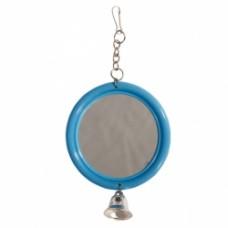 Игрушка д/птиц Триол 061 KX зеркало с колокольчиком