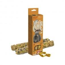 Little One палочки д/хомяков, крыс, мышей и песчанок с фруктами и орехами 2*60гр 1/8