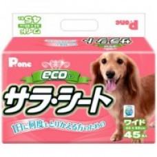 Пеленки 44*60 cм 45шт Пемиум Пет Pone 3-х слойные антибакт. цв.розовый.РЕW-602(Япония) (00364479   )