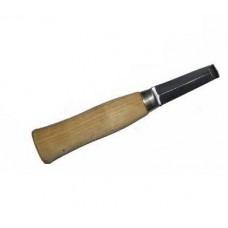 Нож 7012 (Финский копыт. нож двухстор. с загнутым кончиком) (00365179   )