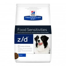 HILLS диета z/d 8кг д/соб SENSITIV аллергия 605525 (00365436   )