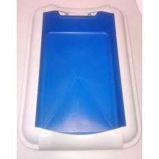 Туалет д/кошек 38*27см  Брава с бортом  (00365678   )
