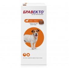 Бравекто табл. 250 мг 4,5-10кг Интервет -9283-