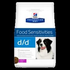 HILLS диета d/d 2кг д/соб (при дерматитах, аллергии) УТКА/РИС 9117 (00371473   )