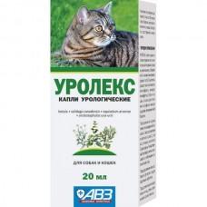 Уролекс капли урологические д/кош и соб 20 мл.1/6 (00371960   )