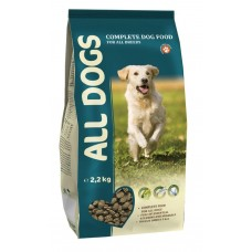 ALL DOGS 2,2кг д/соб взрослых 1/5 (00372755   )
