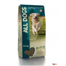ALL DOGS 20кг д/соб взрослых пм 1/3 (00372757   )